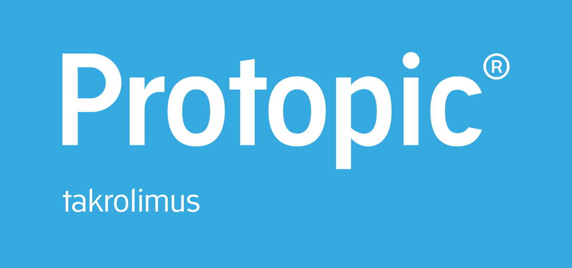 Logo type for Protopic® the effective treatment for atopic dermatitis